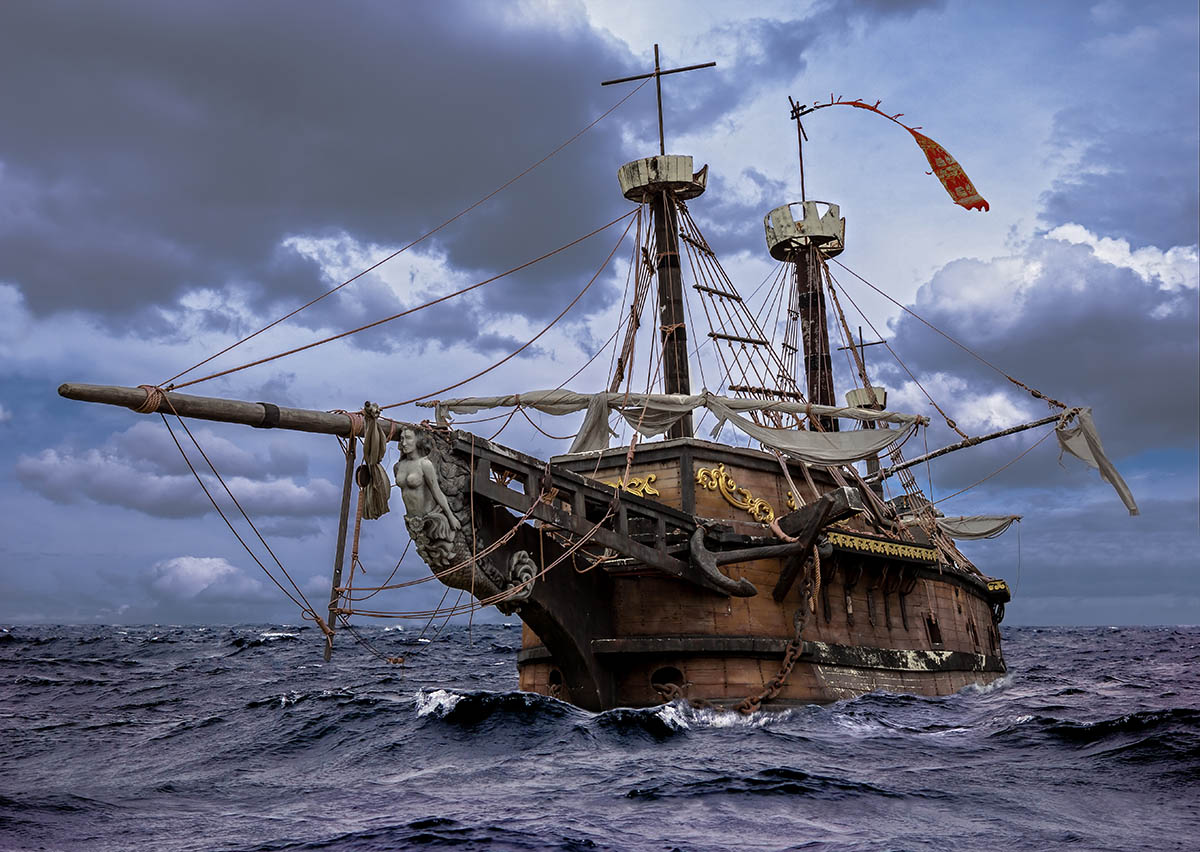 World's Most Famous Shipwreck - Pirate Show Cancun