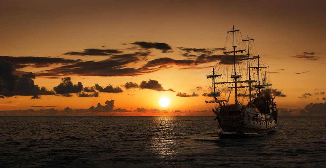 The Most Infamous Pirate Ships in History  Pirate Show Cancun