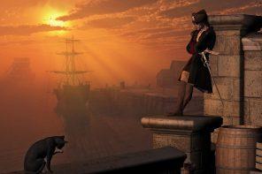 A Cat's Life Aboard a Pirate Ship