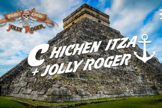 Classic Chichen Itza and Jolly Roger