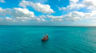 Pirate Ship Groups in Cancun