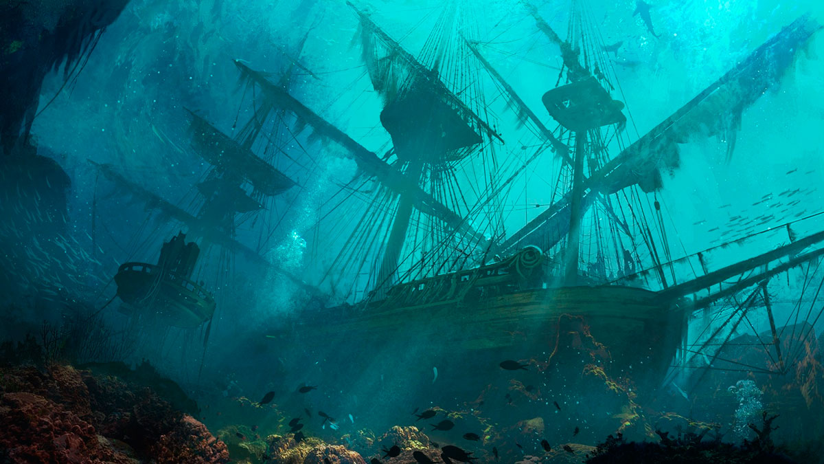 Interactive Treasure Map For Great Lakes Shipwrecks