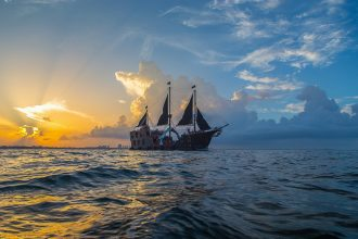 Pirate Team Building on the Jolly Roger Cancun