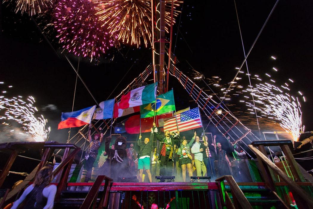 Jolly Roger Pirate Ship Show
