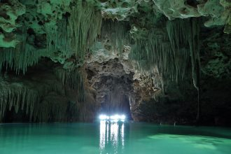 Visit the Underwater Caves