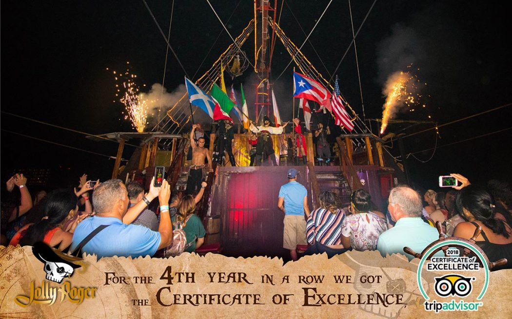 Tripadvisor 4th Certificate of Excellence: Jolly Roger Pirate Tour