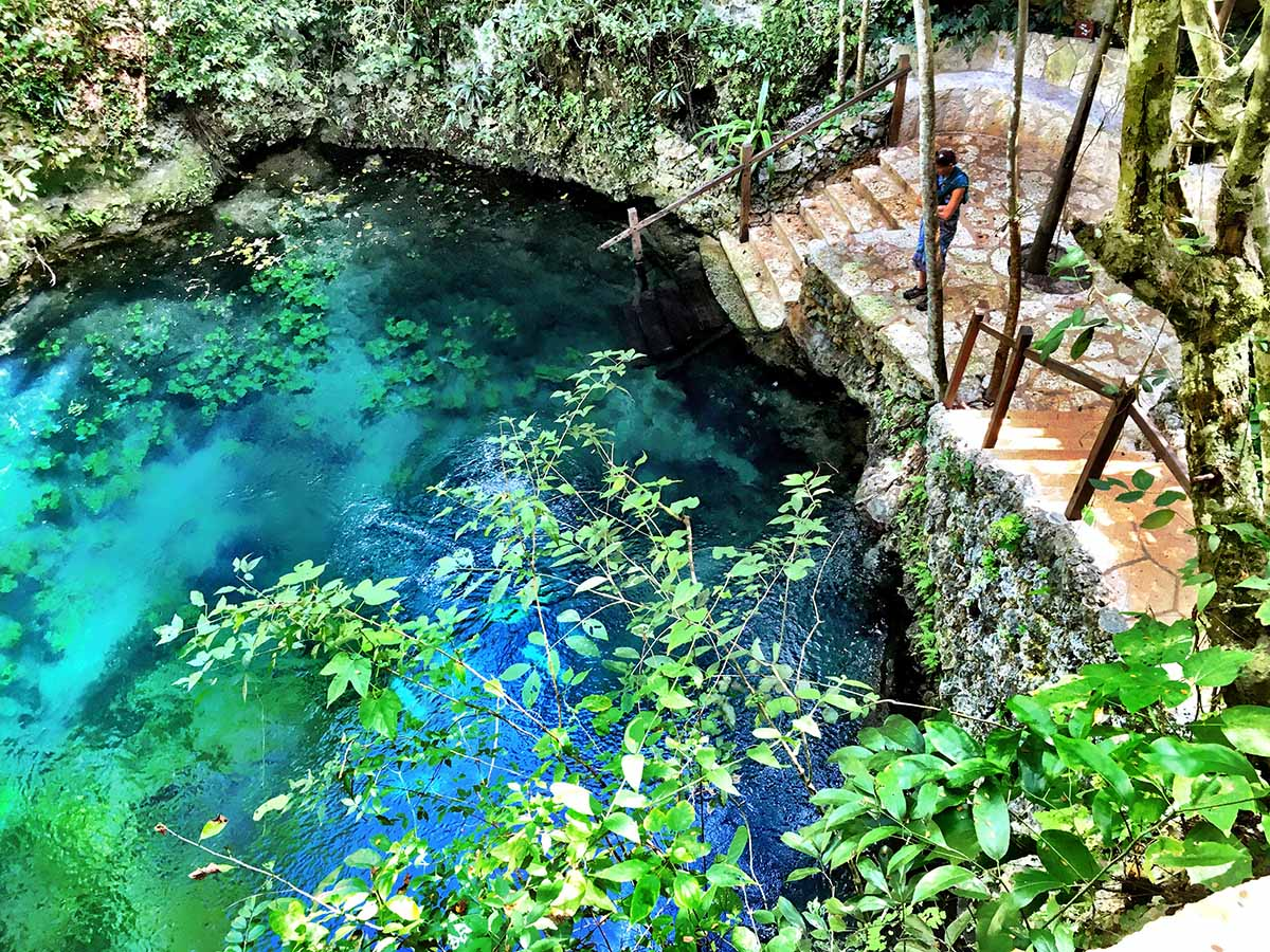 Adventure Seekers Can Go to the Cenotes Zapote Eco-Park