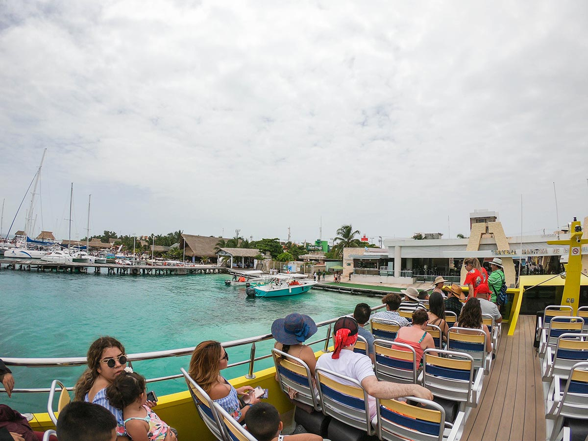 Isla Mujeres Day Outing