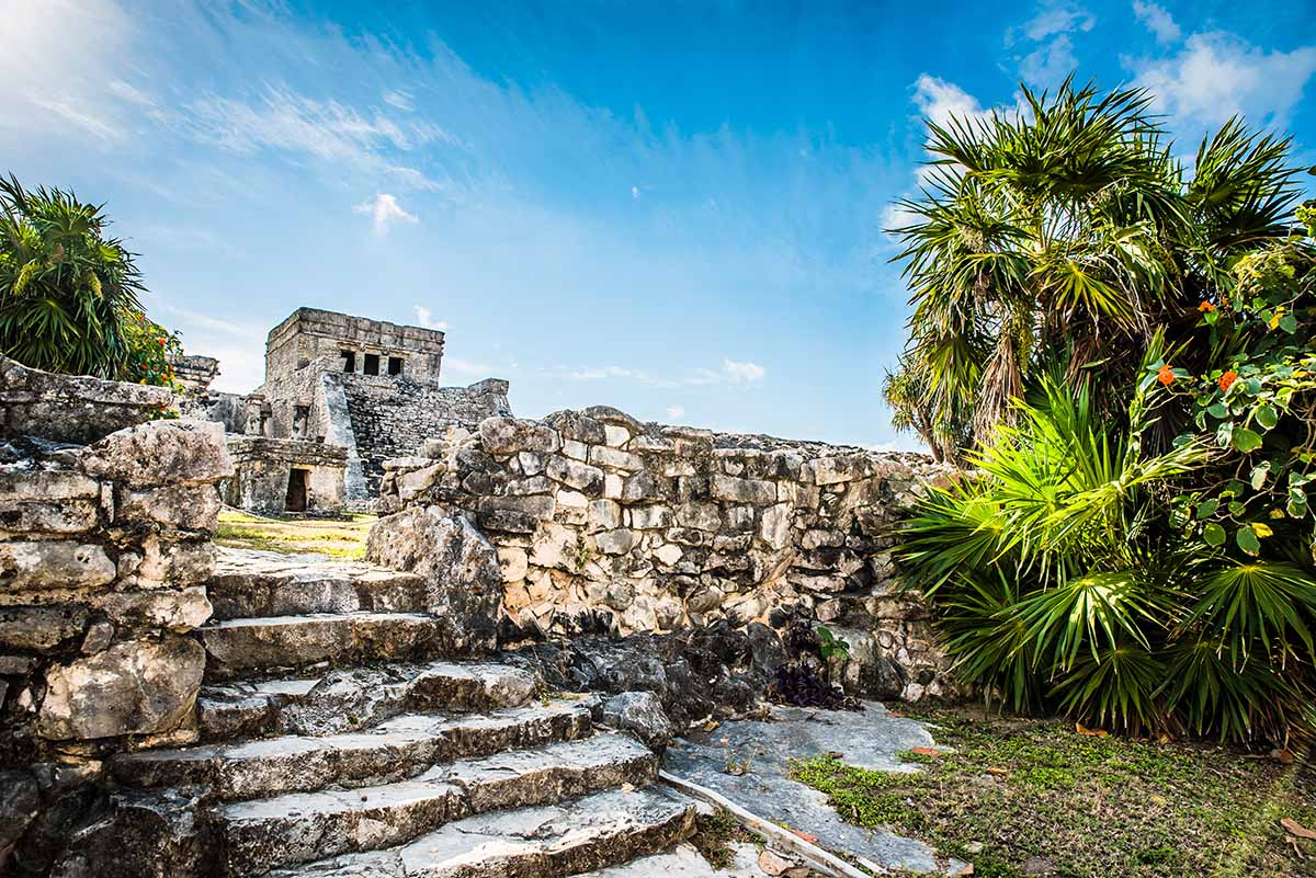 Mayan Ruins Are In Cancun's Hotel Zone