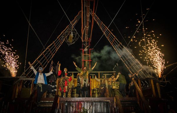 New Year's Eve on the Jolly Roger