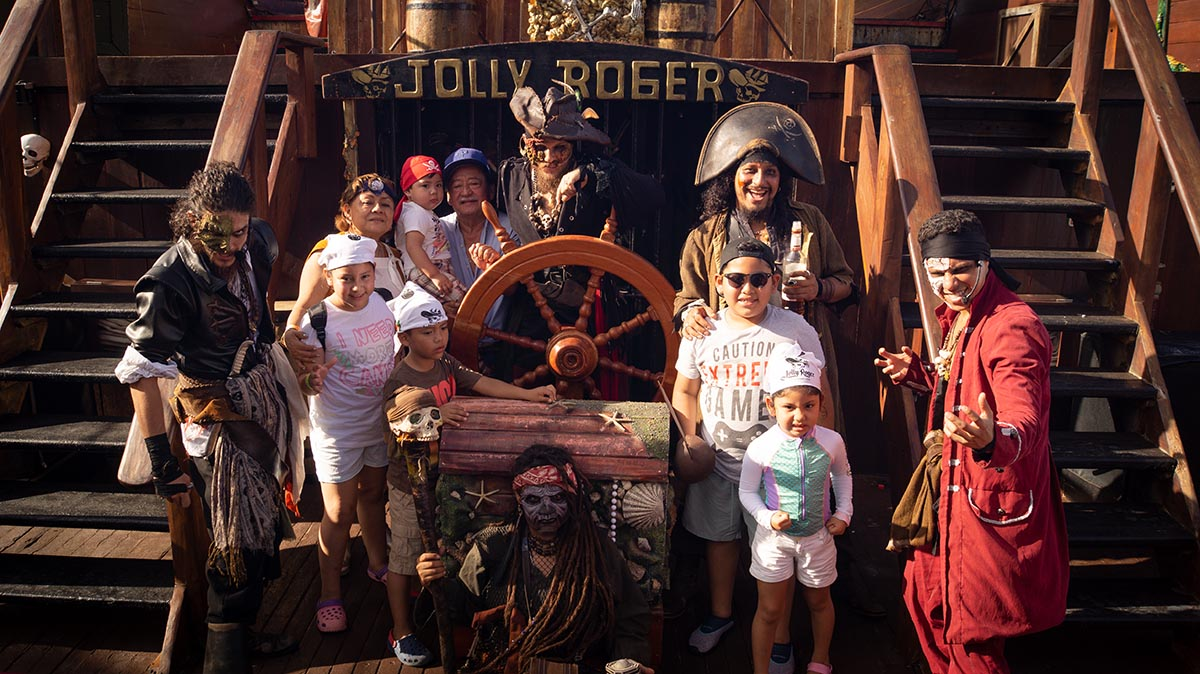 Experience the Pirate Life on the Jolly Roger