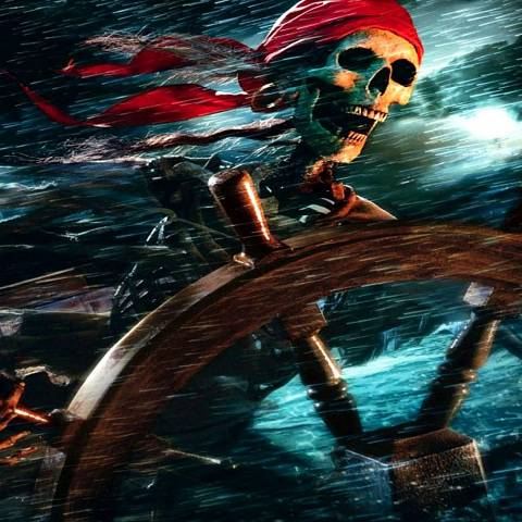 Francis Drake pirates jolly roger