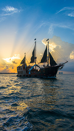 pirate ship Vallarta
