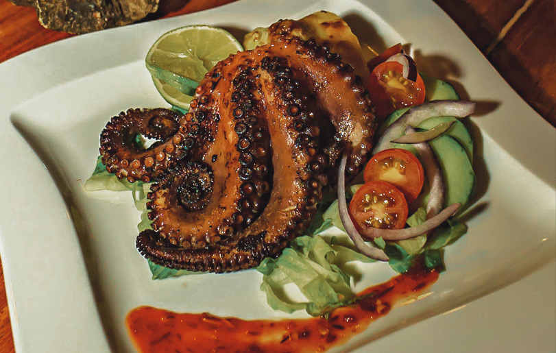 Grilled Octopus with Alioli